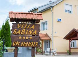 Villa Sabina, room in Fužine