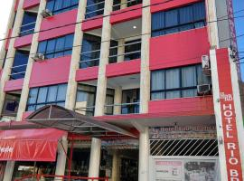 Hotel Rio Branco, отель в городе Жекие