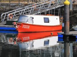 Estrella del Norte, boat in Villaviciosa
