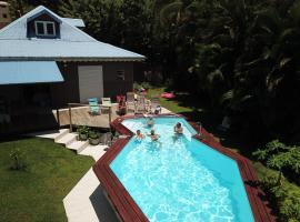 Bed and Breakfast - Chez Nous, Ferienunterkunft in Le Lamentin