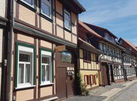 Ferienwohnung Altstadtidylle 2, apartment in Wernigerode