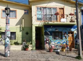 Hostal Destino Bellavista, hotel in Valparaíso