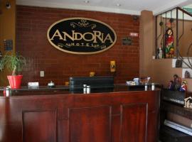 Hotel Andoria, hotel in San Salvador