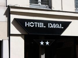 Hotel Daval, hotel in Paris
