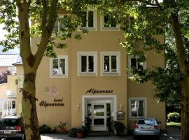Hotel Alpenrose, hotel near Rupertus Thermae, Bad Reichenhall