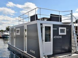 Cosy floating boatlodge Athene, self catering accommodation in Maastricht