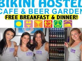 Bikini Hostel, Cafe & Beer Garden, hostel in Miami Beach