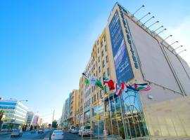 سيتي روز للاجنحة الفندقية، فندق في عمّان