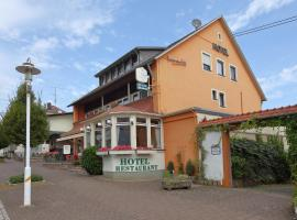 Hotel-Garni Schinderhannes, hotel near Roesterkopf mountain, Weiskirchen