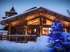 Hotel Restaurant La Bouitte - Relais & Châteaux - 3 étoiles Michelin, hotel in Saint-Martin-de-Belleville