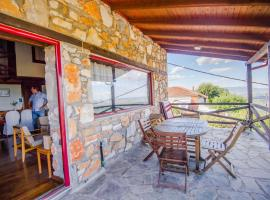 Stonehouse 2 Bedroom Chalet on Olympus Amazing View, hotel near Mount Olympus, Pétra