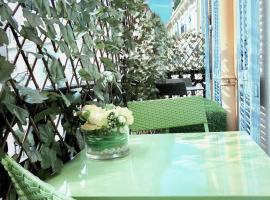 Prestige Center, hotel cerca de Estación de tren de Nice - Ville, Niza