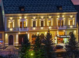 Hotel Central Park Sighisoara, hotel in Sighişoara