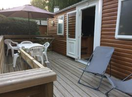 Mobil-home Mercure, campground in Corcieux