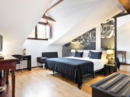 Abba Jazz Hotel Vitoria, отель в городе Витория-Гастейс