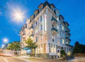 Best Western Plus Hotel Mirabeau, hotel in Lausanne