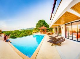 Huge Seaview Pool - Mountain House 4 bedrooms, Koh Lanta, villa in Ko Lanta