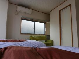 아타미 아타미역 근처 호텔 Izu 4 sea ocean reinforced con Double bed with sea view unit bath (Room
