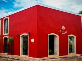 Boutique Hotel Gayser, отель в городе Вальядолид