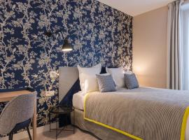 Hotel Le Mareuil, hotel near Jourdain Metro Station, Paris