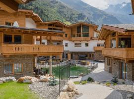 PURE Resort Pitztal, cabin in Sankt Leonhard im Pitztal