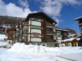 Hotel Europa Guest House, hotel near Alpin Express, Saas-Fee