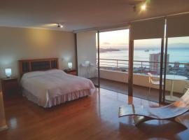 Alluring View at Valparaiso departamento, apartamento en Valparaíso