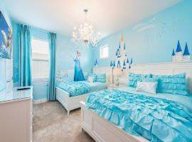 Brīvdienu māja Disney,Encore Official Water Park&Golf Holiday Vacation Villa Orlando