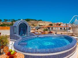 Avli Lounge Apartments, hotel in Rethymno Town