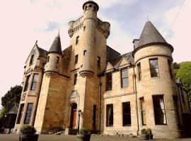Broomhall Castle, hotel near University of Stirling, Stirling