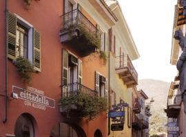 Hotel Cittadella, hotel in Locarno
