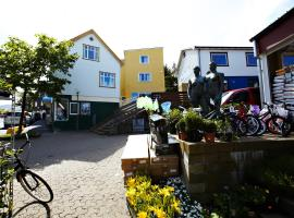 62N Guesthouse - City Center, hotel i Thorshavn