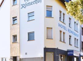 Hotel Römerhof, hotel near Kandrich mountain, Bingen am Rhein