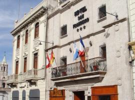 Hotel San Francisco, hotel near Compania de Jesus Church, Arequipa