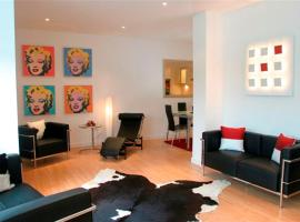 River Clyde West End Apartment - 2 Bedrooms, accessible hotel in Glasgow