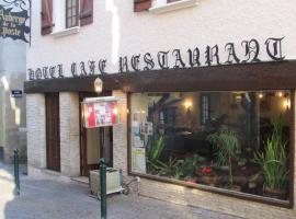 Auberge de la Poste, hôtel à Villefranche-de-Rouergue
