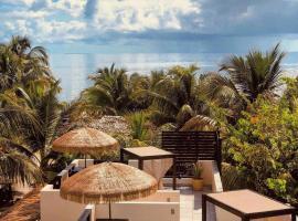 Caribbean Beach Cabanas - A PUR Hotel, lodge in Placencia