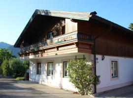 Ferienwohnung NINA, apartment in Sankt Gilgen