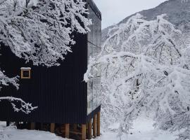Andrómeda Lodge, vacation home in Las Trancas