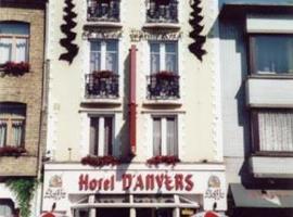 Hotel Anvers, hotel in De Panne