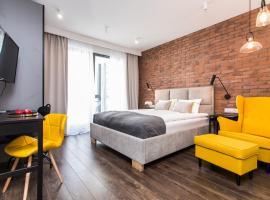 Modern & Classy Industrial - Apartamenty Browar Gdańsk – hotel w Gdańsku