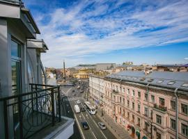 Park Inn by Radisson Nevsky, hotel in Saint Petersburg