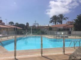 Tu Bungalow en Playa del Inglés, hotel met zwembaden in Maspalomas