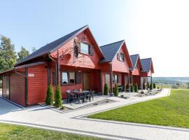 Domki Letniskowe Błękit, cabin in Jastrzębia Góra