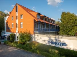 Hotel zur Therme, hotel near Hellweg Brine Thermal Bath, Erwitte