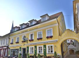 Hotel Restaurant zur Post, Hotel in Melk