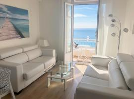 SEA FRONT - Panoramic view with Terraсe - 2BR, hotel in Nice