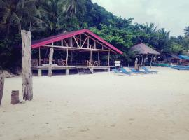 White Beach Front and Cottages, hotel near Ariel's Point, Buruanga