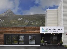 Svartisen Apartments, hotel near Svartisen Glacier, Glomfjord