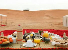 Erg Lihoudi Dunes & Bivouac, luxury tent in Mhamid